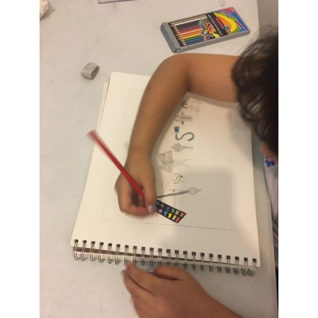 Online Drawing Lessons (1 Lesson)