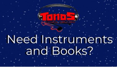 Need Instruments and Books?